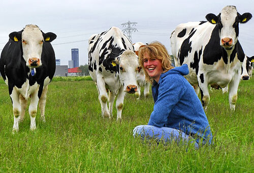 Boerderijdag Dairy Campus in Leeuwarden