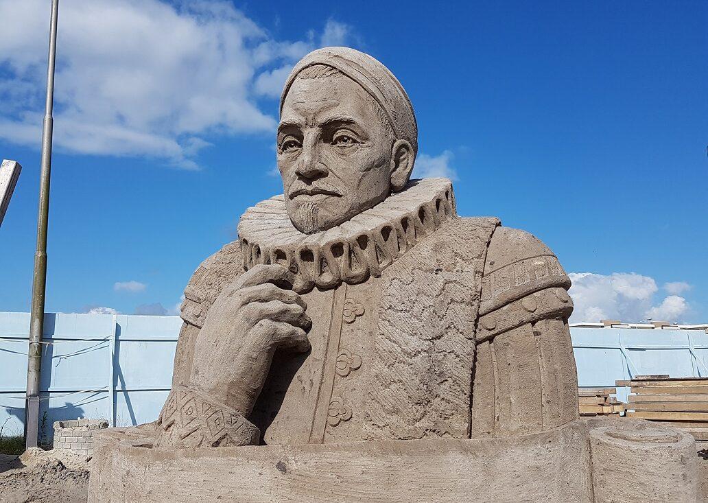 Zandsculpturen Festival Sneek - Vader des Vaderlands