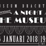 Museum Dr8888 trapt Culturele Hoofdstadjaar op feestelijke wijze af met Museumnacht
