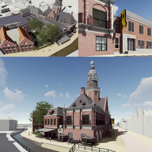 Realisatie Cultuur Historisch Centrum 'De Tiid' in Bolsward