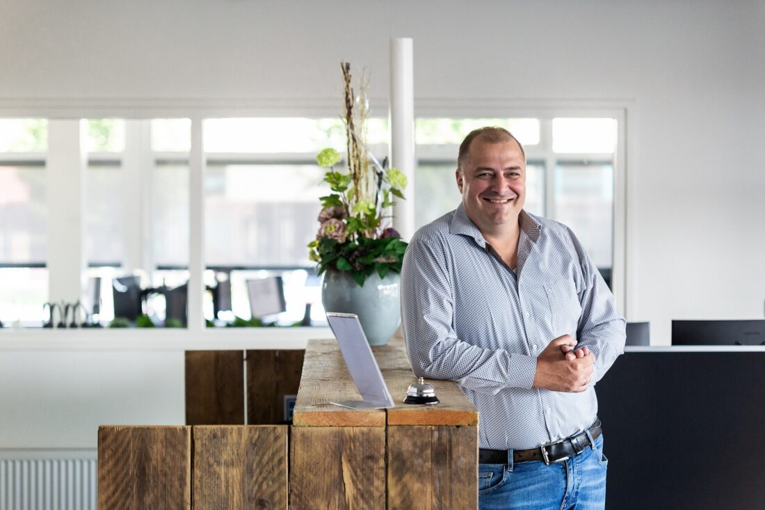 CEO Eric Idema van EDC Retail