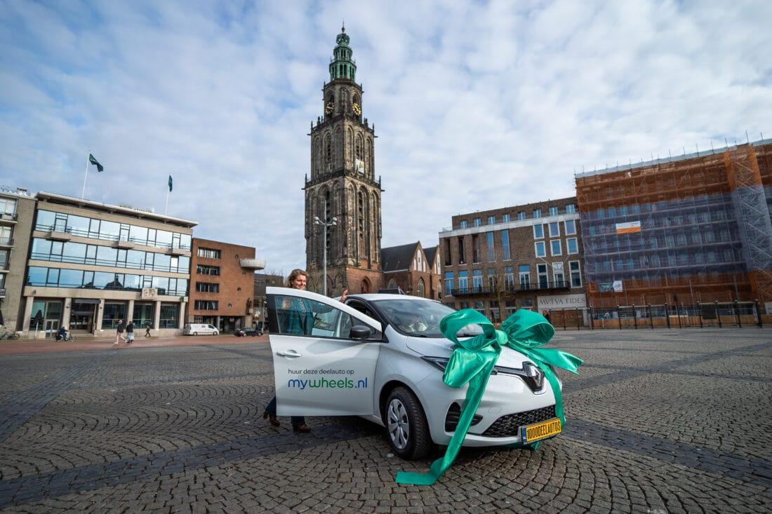 MyWheels plaatst 1.000ᵉ deelauto in Groningen