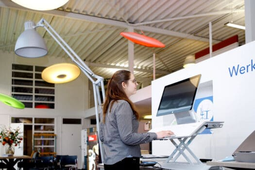 Datas schakelt moeiteloos tussen kantoorprojecten en thuiswerkplek