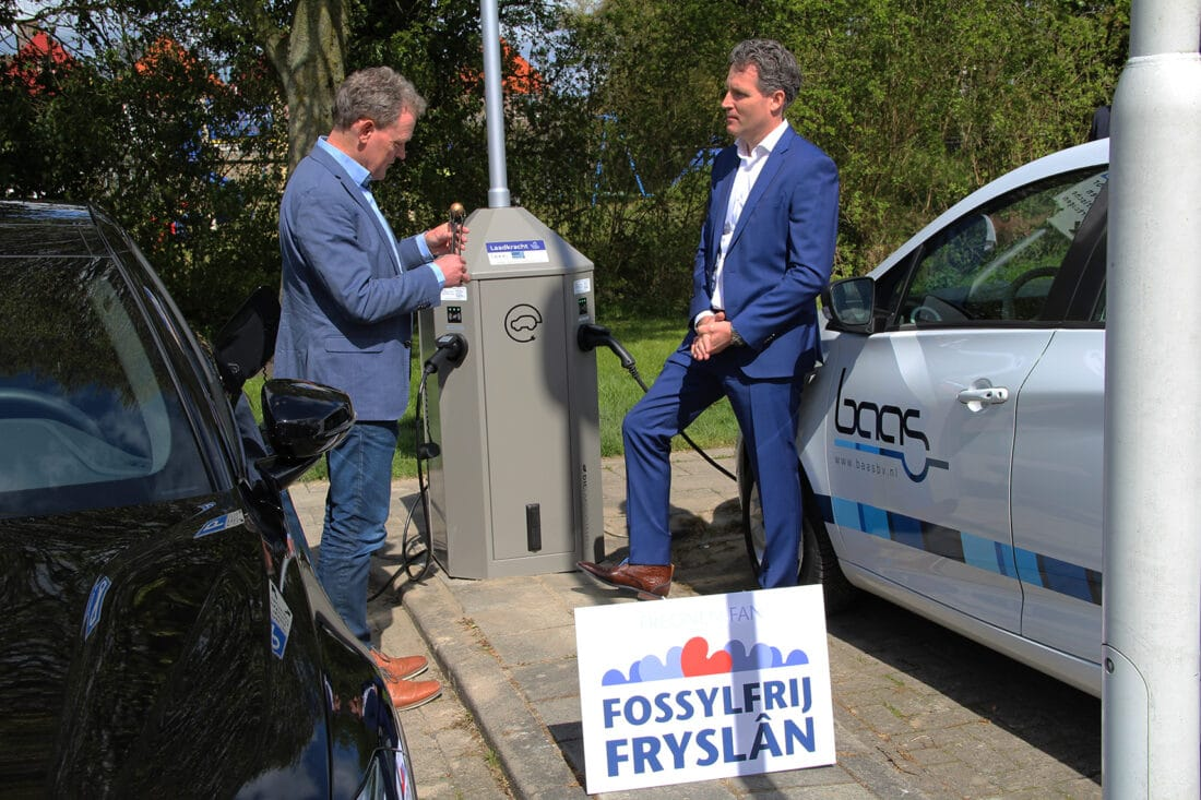 Gemeente Súdwest-Fryslân koploper: inwoners kunnen gratis laadpaal aanvragen