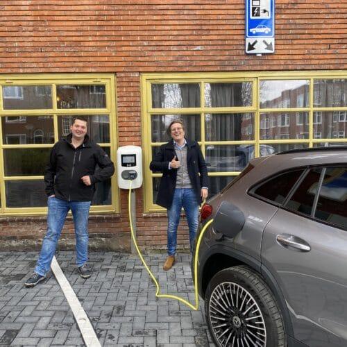 """""""Laden Maar!"""" uniek concept in elektrische laadpalen voor sportverenigingen, VVE's en publieke ruimte"""