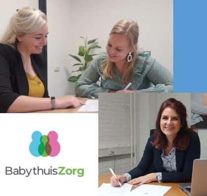 Samenwerking tussen babythuiszorg een feel gezinsondersteuning