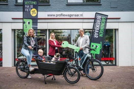 Fietsactie Groningen Bereikbaar uitgebreid: speed pedelec en elektrische bakfiets in gemeente Westerkwartier