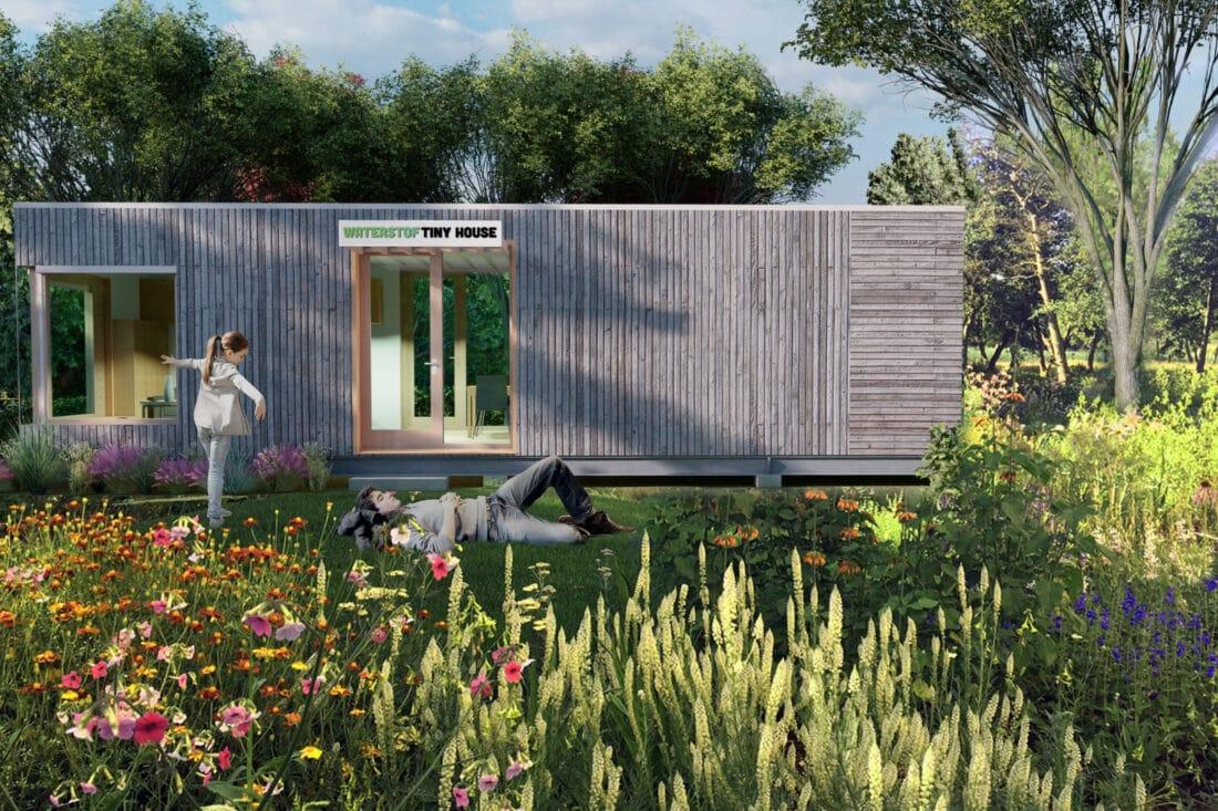 Waterstof Tiny House toont mogelijkheid van waterstof als energiebron