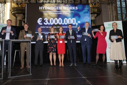 Waterstof Werkt van start met bijdrage Nationaal Programma Groningen